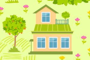 Ist das Haus an keine Straße angeschlossen, kann ein Notwegerecht gemäß BGB bestehen.