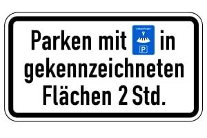 Parkscheibe vergessen: Auf entsprechend gekennzeichneten Parkplätzen dürfen Sie Ihr Fahrzeug nun nicht abstellen.