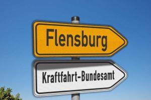 Das Punkteregister in Flensburg wird vom Kraftfahrt-Bundesamt geführt.