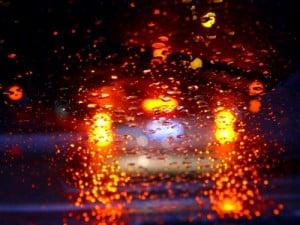 Regen: Scheibenwischer gewähren die nötige Sicht.