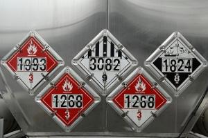 Abkommen wie ADR, RID und ADN: Gefahrgut wird in Bezug auf Beförderung und Sicherheitsmaßnahmen von diesen beeinflusst.
