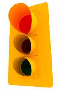 Rote Ampel: Es hat geblitzt, Sie haben aber die Lichtanlage nicht überfahren? Glück gehabt.