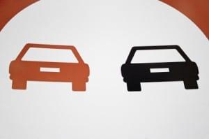 """Das Schild zum """"Überholverbot"""" wird von vielen Pkw-Fahrern missachtet."""