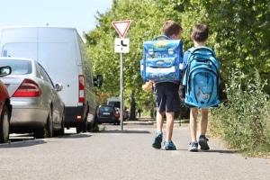 Für einen sicheren Schulweg ist die Verkehrserziehung unerlässlich.