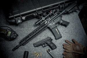 Funktionsprinzip Softair: Gewehre und Pistolen gelten nur in einigen Fällen als Waffen.