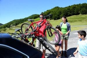 Stützlast: Auch beim Fahrradträger müssen Sie diese Werte beachten.