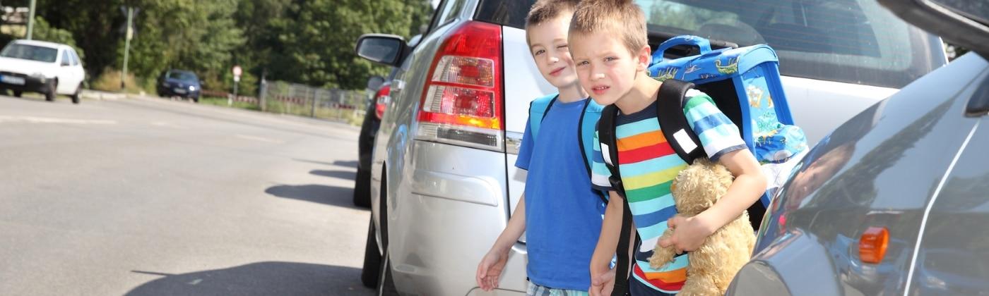 Wie kann beim Unfall ein Kind am besten geschützt werden?