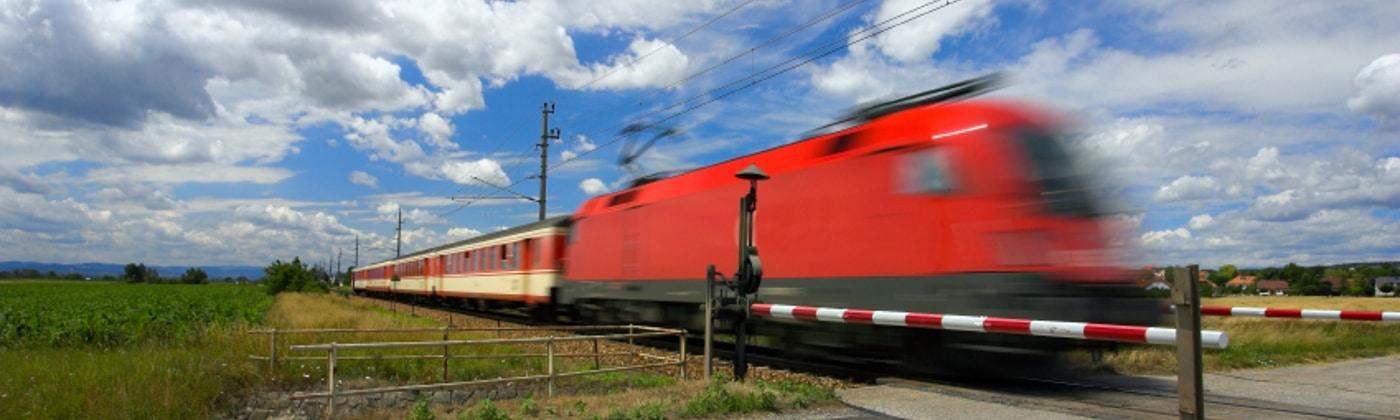 Wie gefährlich ist ein Unfall mit einem Zug?