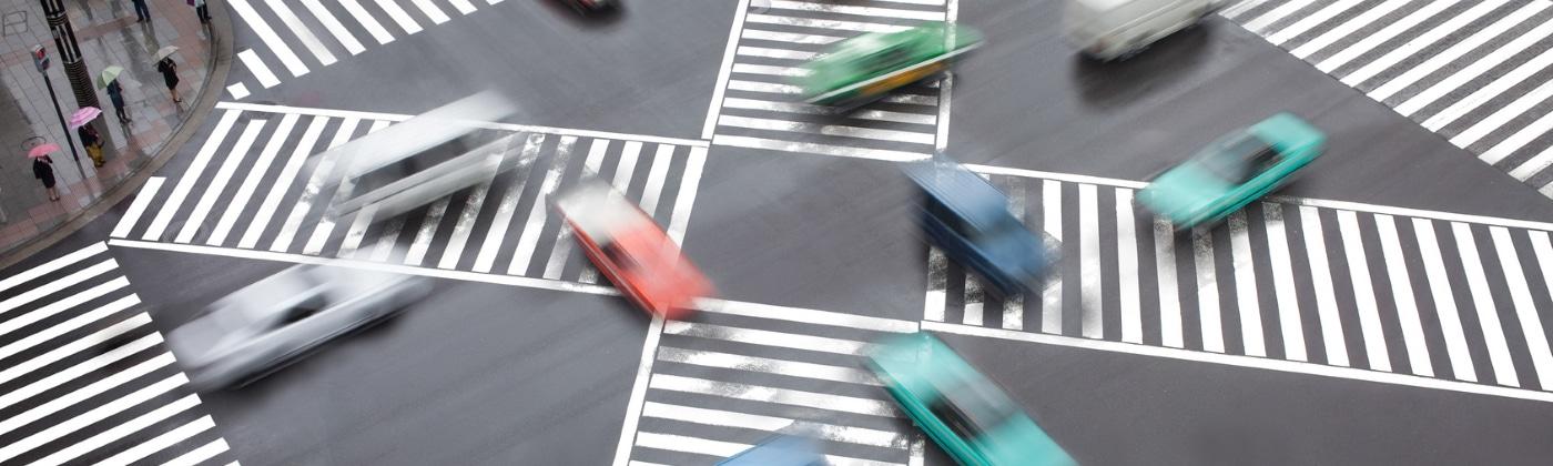 Wie verhält man sich nach einem Unfall am Zebrastreifen mit einem Fußgänger?