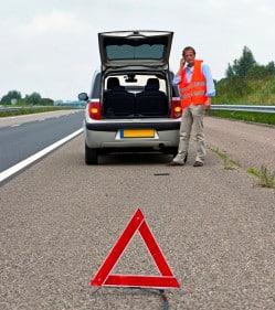 Ohne Unterscheidungskennzeichen darf ein ausländisches Fahrzeug nicht auf deutschen Straßen fahren.