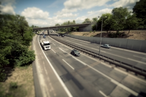 Das Verkehrskontrollsystem VKS 3.0 arbeitet mit einer Videokamera zur Überwachung des Verkehrs.