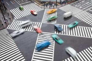 Missachtung der Vorfahrt führt häufig zu Unfällen