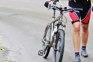 Die Vorfahrtsregeln für Radfahrer müssen beachtet werden.